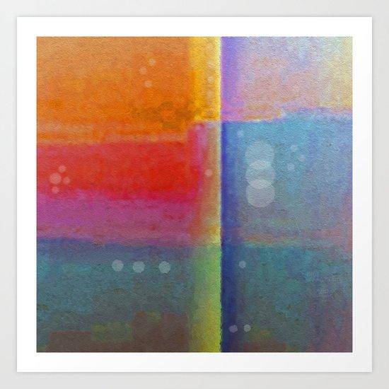 Mood Fragments Art Print