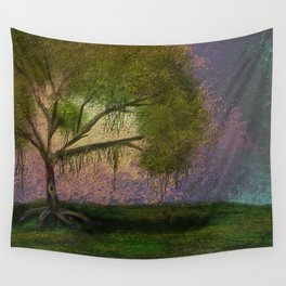 Guardian of Thoughts Wall Tapestry