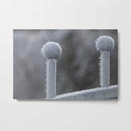 Icy Days NO9 Metal Print