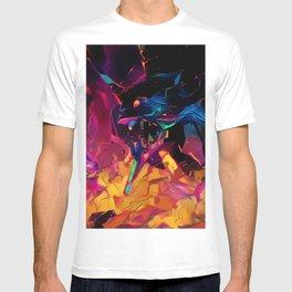 Neon Berserk Mecha T-shirt