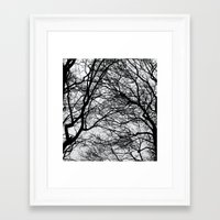 anxiety Framed Art Prints featuring Anxiety by Mind-off