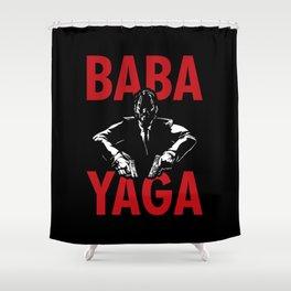 Baba Yaga Shower Curtain