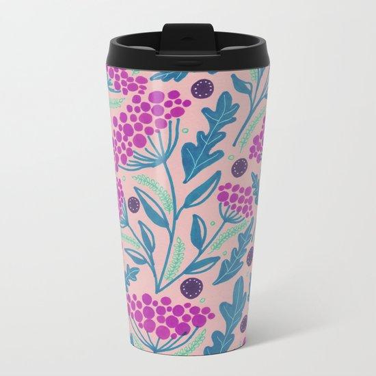 Spring vibes VII Metal Travel Mug