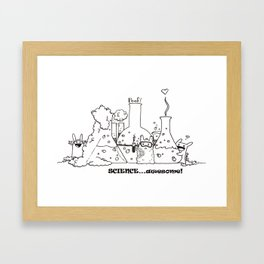 Science...Awesome! Framed Art Print