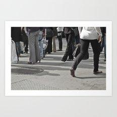Still Motion Art Print