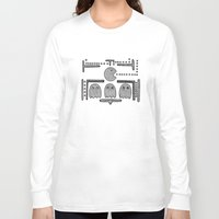 pacman Long Sleeve T-shirts featuring Celtic Pacman by ronnie mcneil