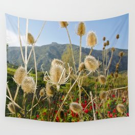Meadow of Sicilian Spring Wall Tapestry