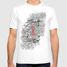 10 of Diamonds Mens Fitted Tee LARGE White