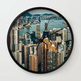 Golden Harbour Wall Clock