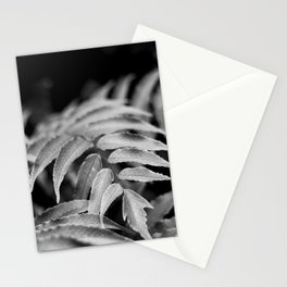 Deep In - leaves & fern Stationery Cards