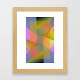 Facets 111115 Framed Art Print