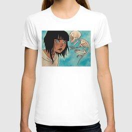 Trinadot Bea Skeleton Monkey T-shirt