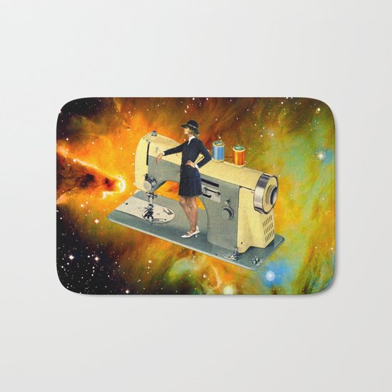 Barbara's Spaceship Bath Mat