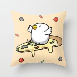 KIPI PIZZA Throw Pillow