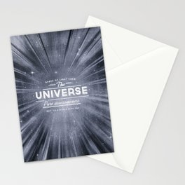 The Universe Crew Stationery Cards