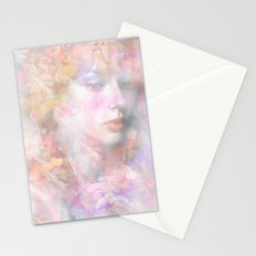 The flowers of my secret Stationery Cards