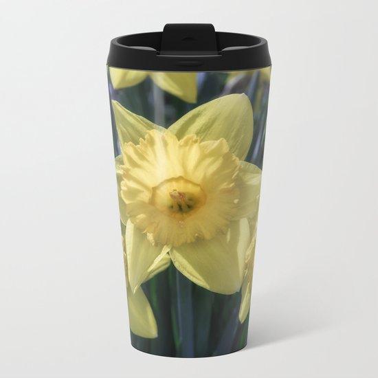 Spring time Daffodils Metal Travel Mug