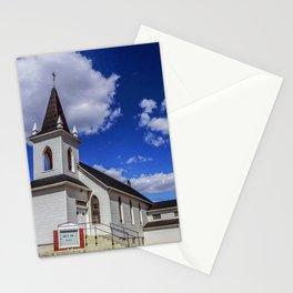 Trinity Church, Sweetgrass Hills, MT Stationery Cards