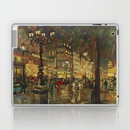 A Night in Paris Laptop & iPad Skin