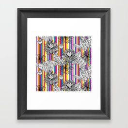 Papoula Framed Art Print