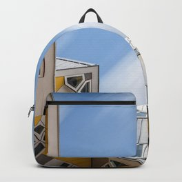 Cube houses in Rotterdam Backpack
