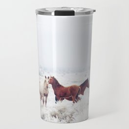 Winter Horseland Travel Mug