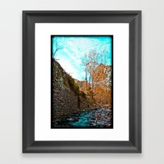 Creek Walk Framed Art Print
