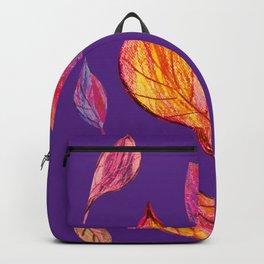 Fall pattern, autumn pattern, Backpack