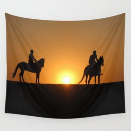 Three Horsemen Wall Tapestry
