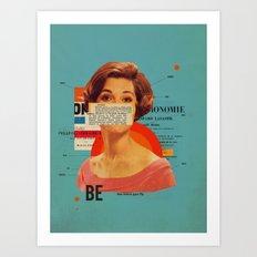 Be Art Print