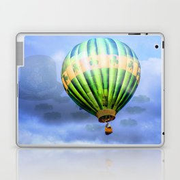 Floating through clouds of shamrocks Laptop & iPad Skin