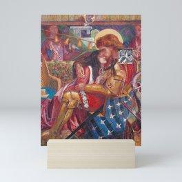 Dante Gabriel Rossetti The Wedding of St George and Princess Sabra 1857 Mini Art Print