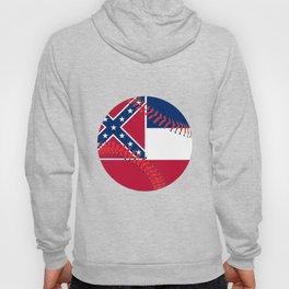 Mississippi Flag Baseball Hoody