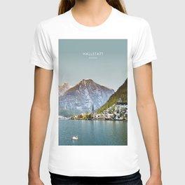Hallstatt, Austria Travel Artwork T-shirt