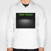 twin peaks Hoodies featuring Twin Peaks  by Spyck