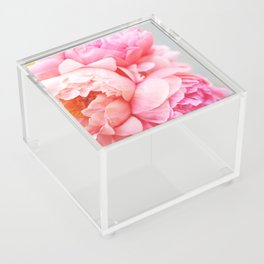 Peonies Forever Acrylic Box