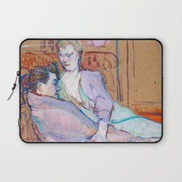 "Henri de Toulouse-Lautrec ""The Two Friends"" Laptop Sleeve"