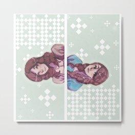 A for Amoona Metal Print