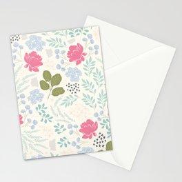 Ella Floral Pattern Stationery Cards
