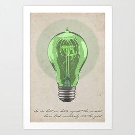 The Green Light Art Print