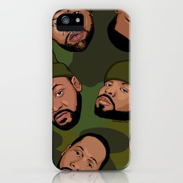 Rappers Camo by turbobambi iPhone Case
