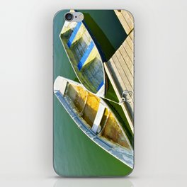Dories at the Dock iPhone Skin