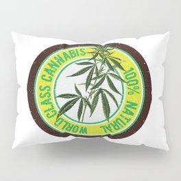 World Class Cannabis Pillow Sham