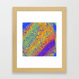 Cololrful Framed Art Print