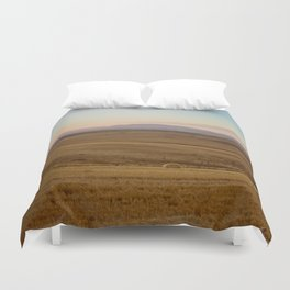 Wheat fields of the Overberg - Landscape Photography Duvet Cover