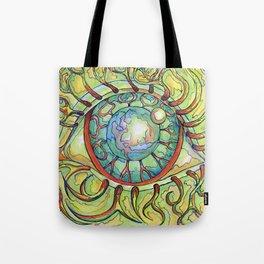 Hairy eyeball Tote Bag