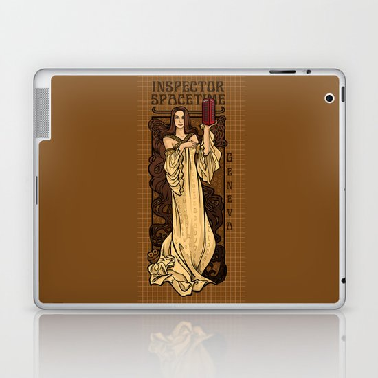 Theatre in Spacetime Laptop & iPad Skin