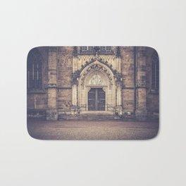 Cathedral door Bath Mat