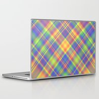 plaid Laptop & iPad Skins featuring Plaid by Lyle Hatch
