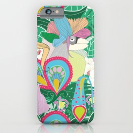 Paradise Birds iPhone Case